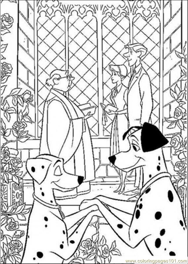 Two Couples Coloring Page Coloring Page
