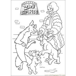 102 Dalmatians Coloring Pages 9