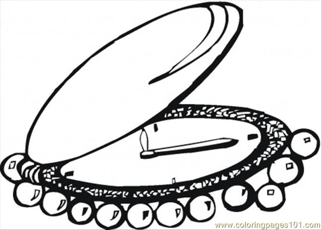 Watches With Pearls Coloring Page