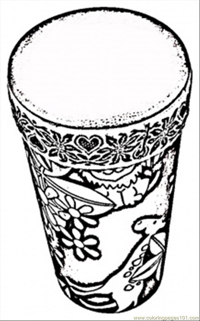 African drum coloring page free africa coloring pages for Coloring page of africa