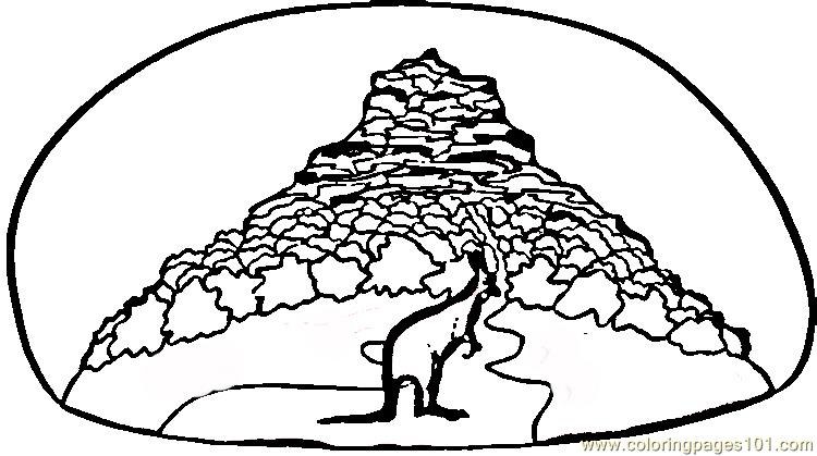 african savannah tree coloring pages - photo#27