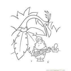 In the south africa Free Coloring Page for Kids