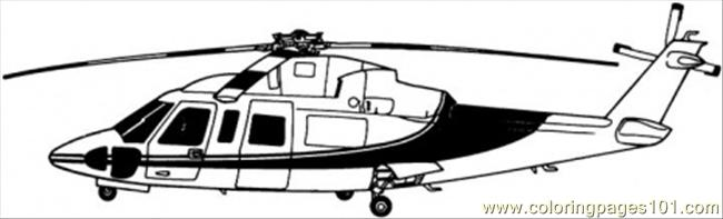 Medic Helicopter Coloring Page Free Air Transport Coloring Pages