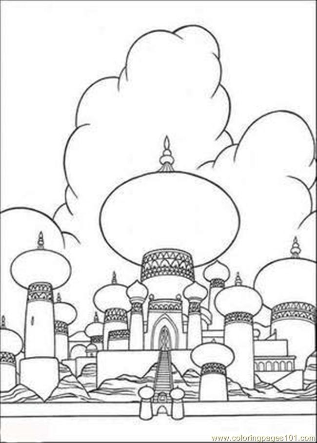 Aladdin Coloring Pages 5 Coloring Page