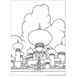 Aladdin Coloring Pages 5