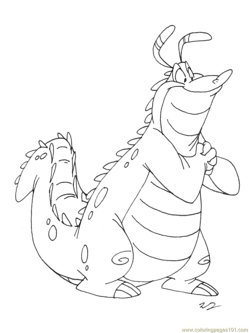 Charming Alligator Coloring Page - Free Alligator Coloring Pages ...