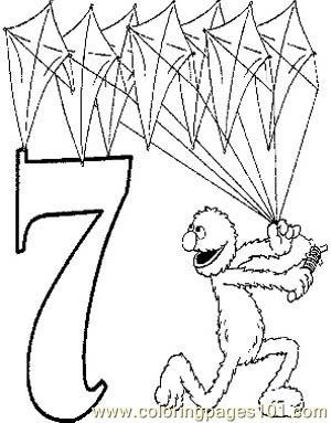 07 grover coloring page free alphabets coloring pages for Grover coloring pages
