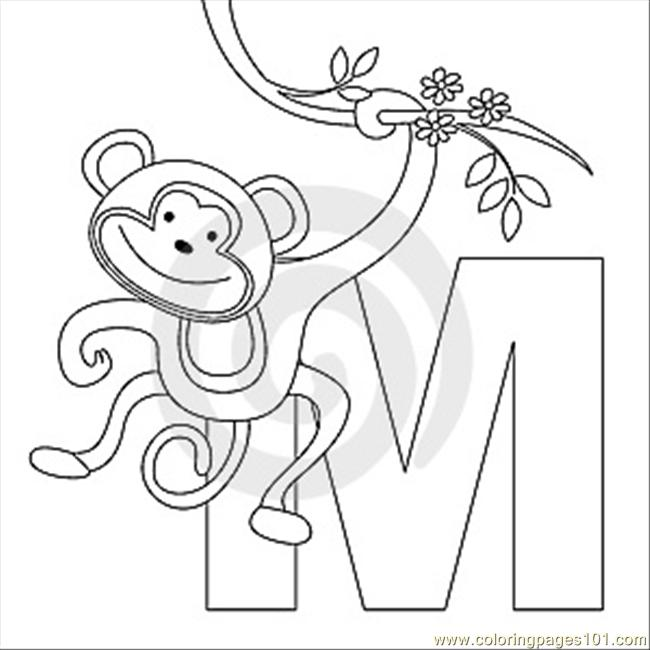 M Coloring Page Thumb9999273 Coloring Page - Free Alphabets ...