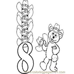 08 Babybear Free Coloring Page for Kids