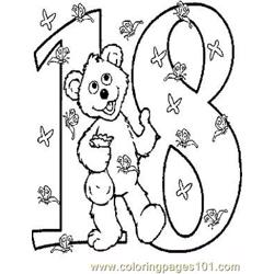 18 Babybear Free Coloring Page for Kids
