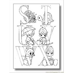 Alphabet Coloring Pages04