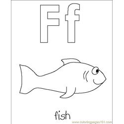 fish Free Coloring Page for Kids