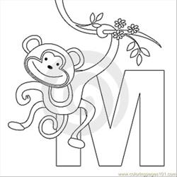 M Coloring Page Thumb9999273