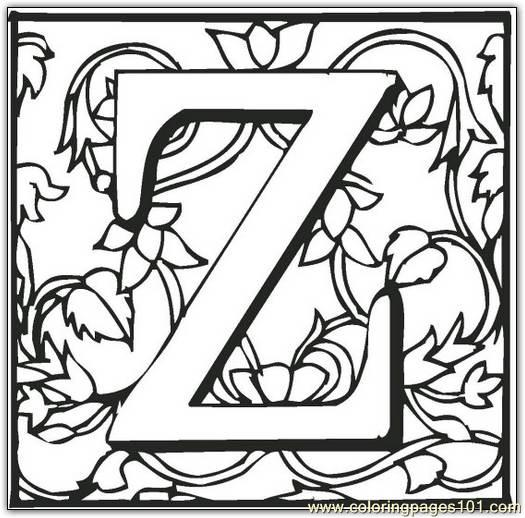 z coloring book pages-#40