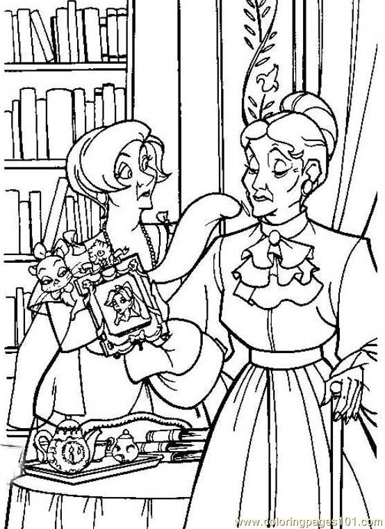 free coloring pages anastasia - photo#31