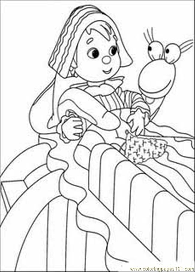 Andy Pandy 42 774279 Coloring Page