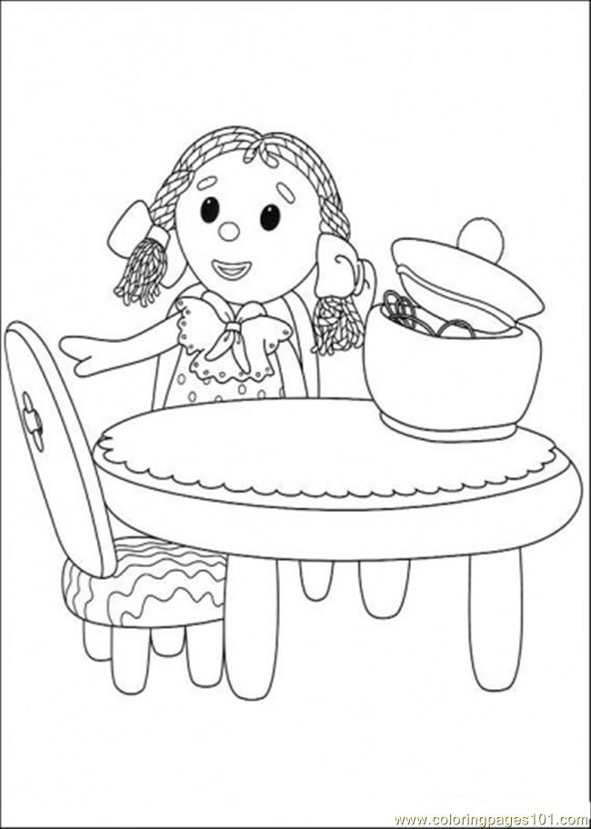 That Girl Is Sitting Coloring Page