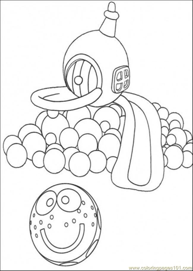 The Play Ground Coloring Page
