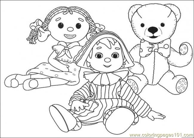 They Are Sitting Together Coloring Page
