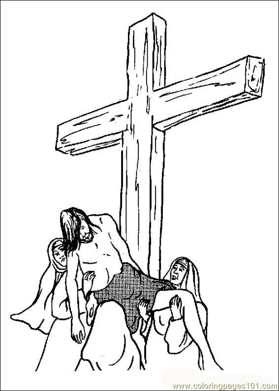Bible02 Coloring Page