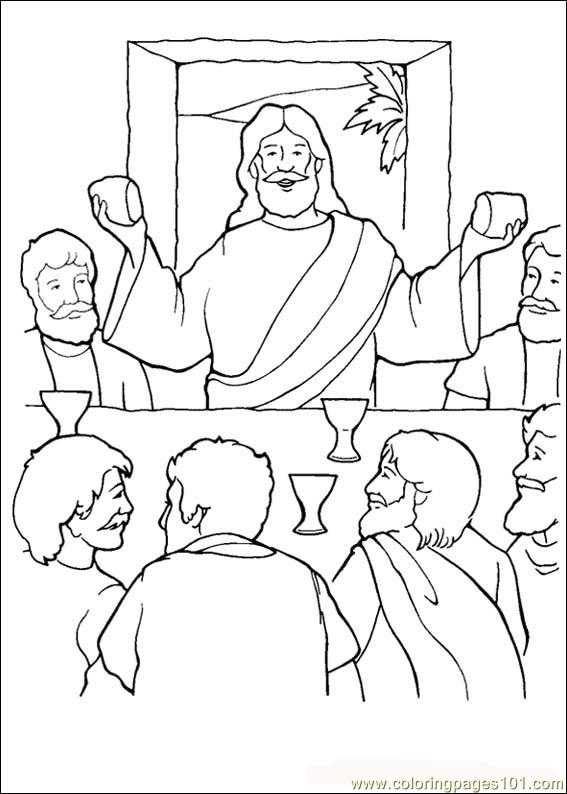 Bible06 Coloring Page
