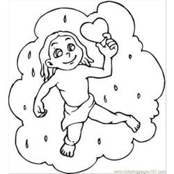 Lentines Day 17 Coloring Page