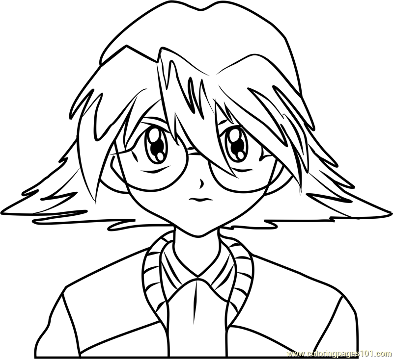 Emily Watson Beyblade Coloring Page