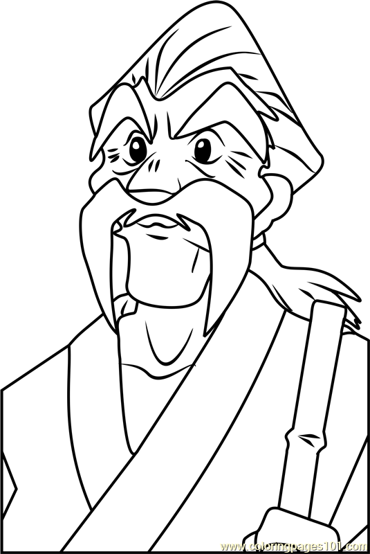 Ryu Granger Beyblade Coloring Page