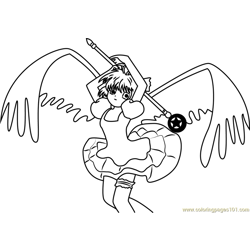 Cardcaptor Sakura by Serenity Free Coloring Page for Kids