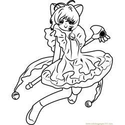 card captors coloring pages 32 cute cardcaptors sakura - Cardcaptor Sakura Coloring Pages