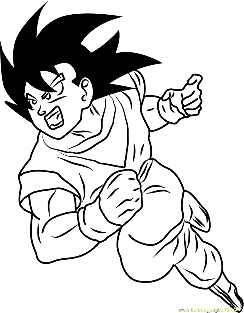 88 Dragon Ball Z Coloring Book Online