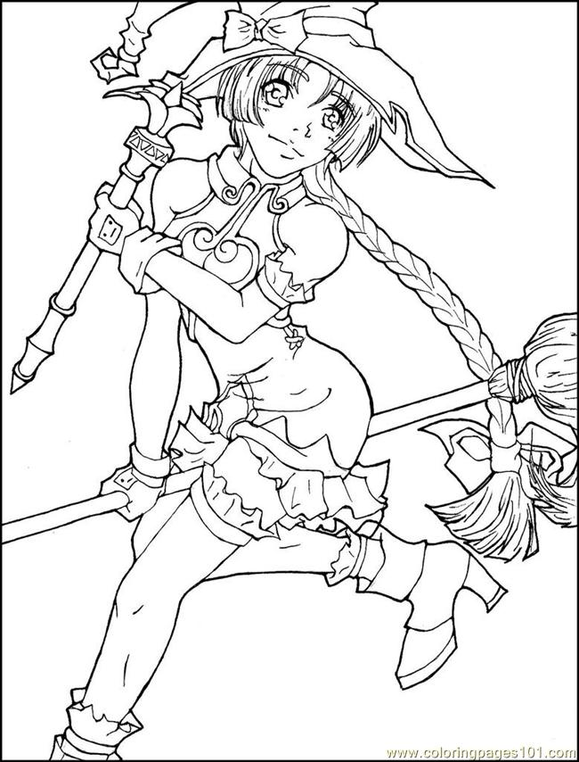 Animedrawing Coloring Page Free Anime Coloring Pages