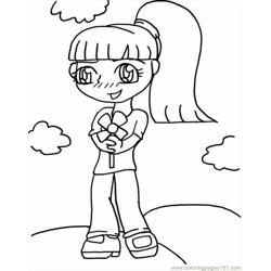 Anime Coloring Pages 99 Lrg coloring page