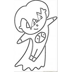 Anime Japanese Coloring Page coloring page