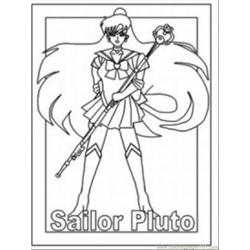 Character Coloring Pages Med coloring page