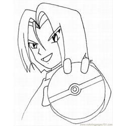 Okemon  Coloring Pages 11 Lrg coloring page