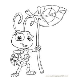 Happy Ants coloring page