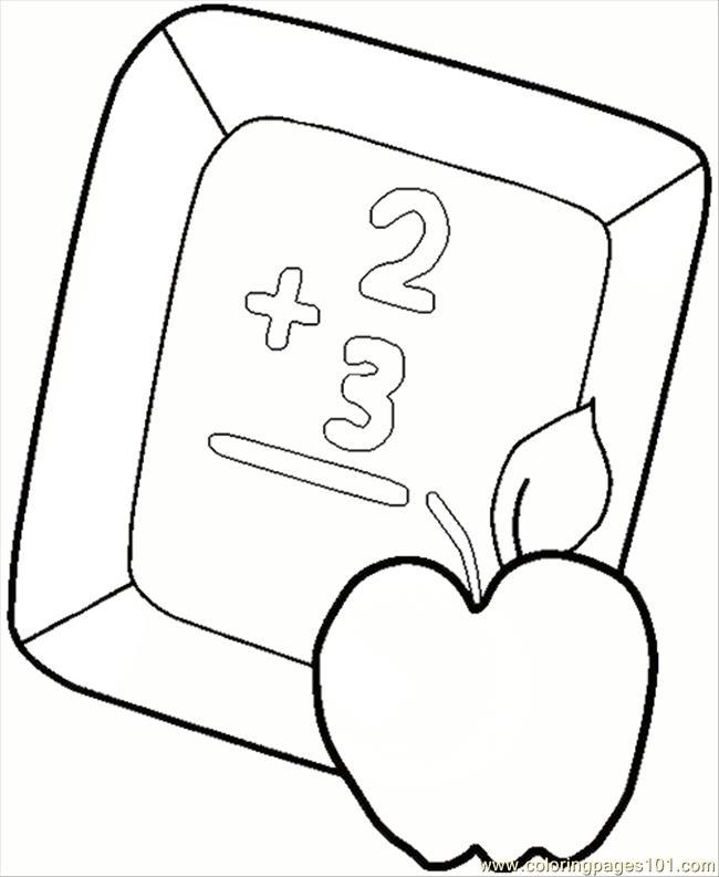 89 Colboardapple Coloring Page