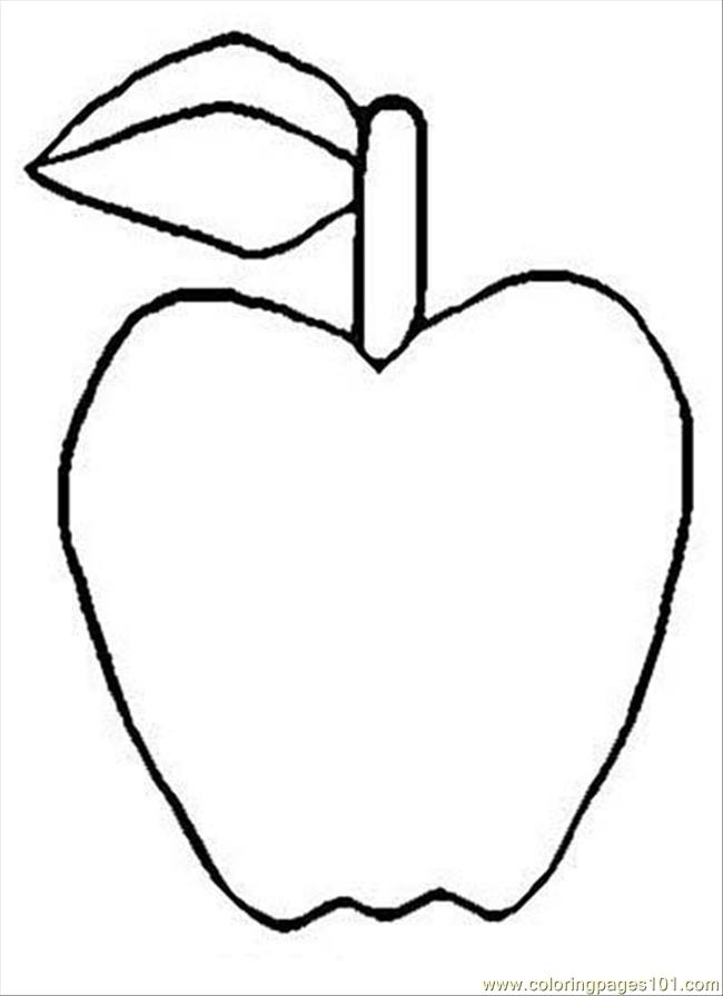 91 Colorapple1 Coloring Page