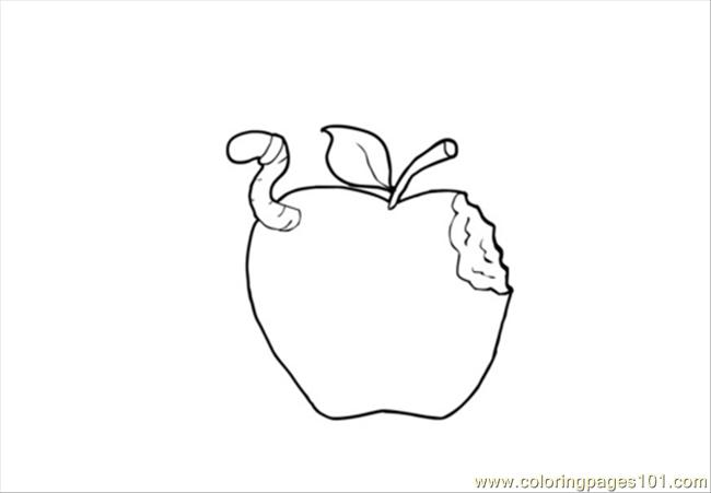 Res Pages Photo Apple Dm13753 Coloring Page