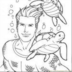 Aquaman 19 150x150 coloring page