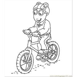 Arthur Coloring coloring page