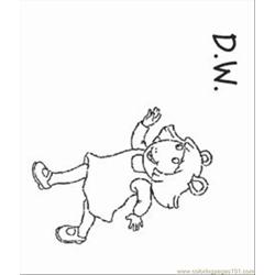Arthur Coloring Pages 10 Med