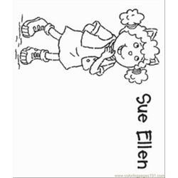 E Arthur 1 Med Free Coloring Page for Kids