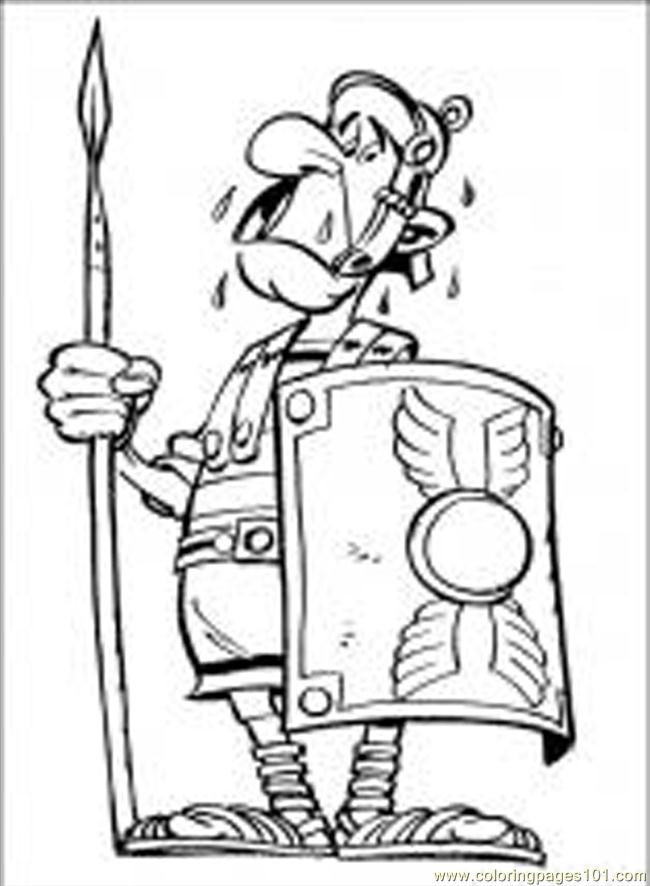 Asterix 11 M Coloring Page