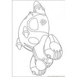 Astro Boy 16 M Free Coloring Page for Kids