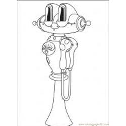 Astro Boy 17 M Free Coloring Page for Kids