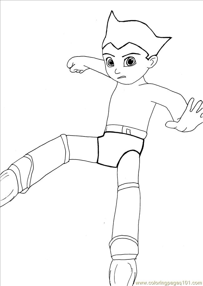 Y line art by whitestarflower coloring page free astro for Astro boy coloring pages free