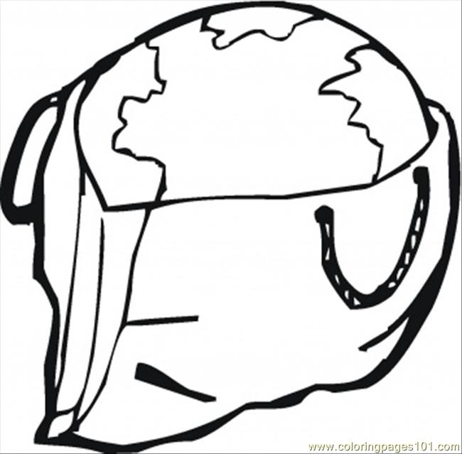 Earth In A Bag Coloring Page