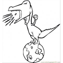 Dinosaur On The Planet
